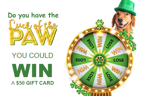 Pet Valu Luck Of The Paw Contest Deals From Savealoonie