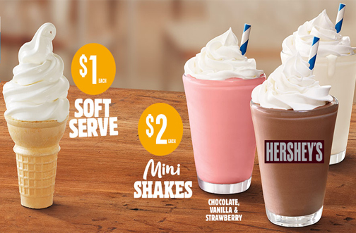 burger king ice cream deals