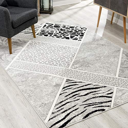 Rug Branch Montage Modern Area Rug 4x6 Feet Abstract