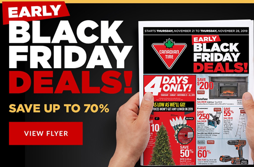 Canadian Tire Early Black Friday Deals Ad Leak Deals From Savealoonie