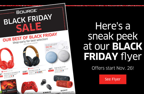 the source black friday flyer