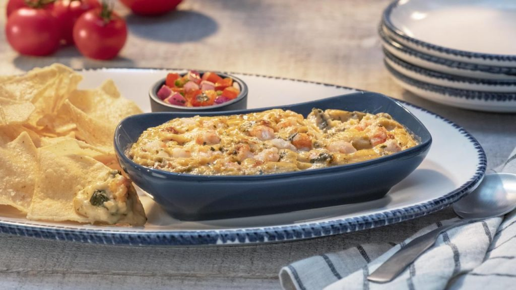Red Lobster Artichoke and Seafood Dip