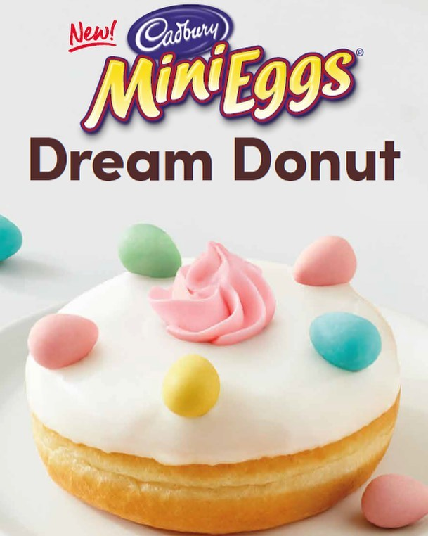 Tim Hortons Cadbury Mini Eggs Donut