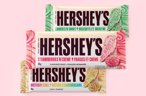 hersheys ice cream chocolate bars