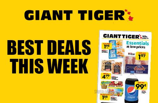 giant tiger deals