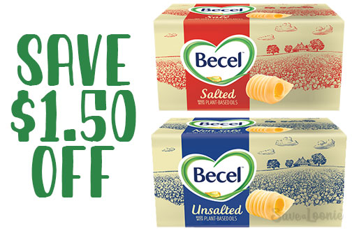 becel plant-based coupon