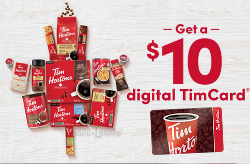 tims at home promotion