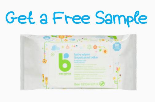 babyganics free sample