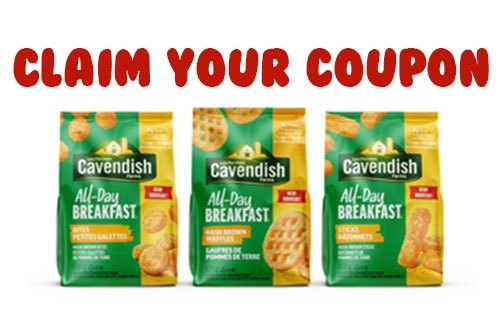 cavendish all-day breakfast coupon