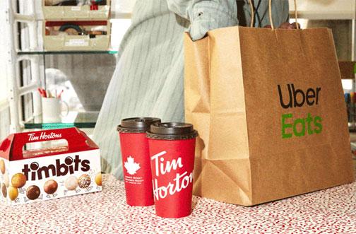 tim hortons ubereats coupon code