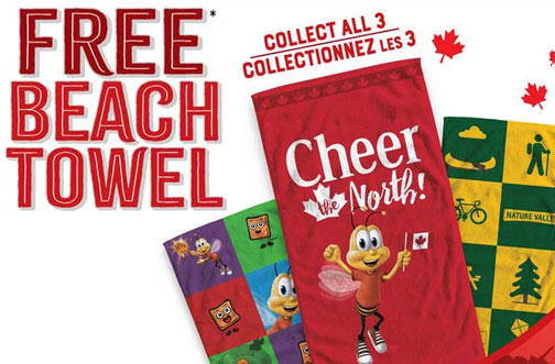 general mills free beach towel