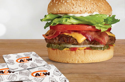 a&w gift card offer