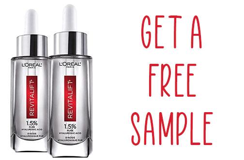 loreal free sample