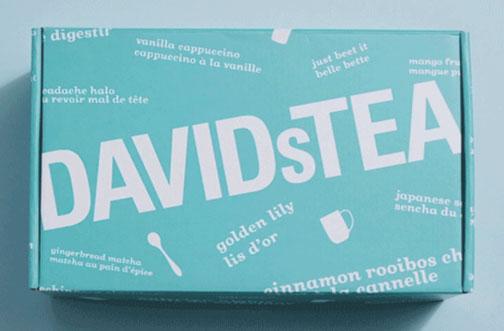davidstea tea tasting club