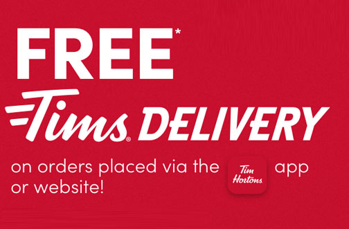 free tims delivery