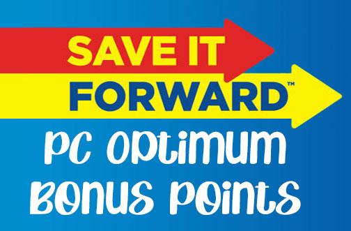 pc optimum bonus points