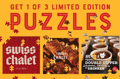 free swiss chalet puzzles