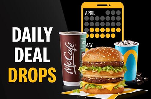 mcdonalds daily deal drops