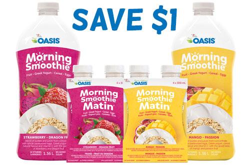 oasis coupon canada