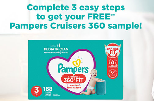 free pampers diaper samples