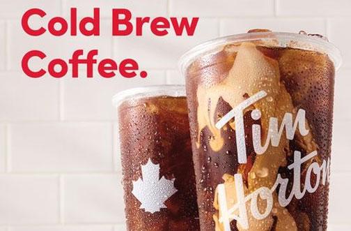 tim hortons cold brew