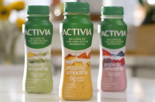 free activia smoothie