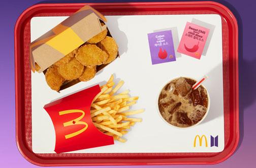 mcdonalds BTS meal