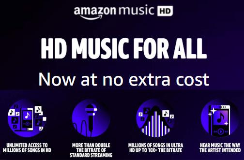free amazon music hd