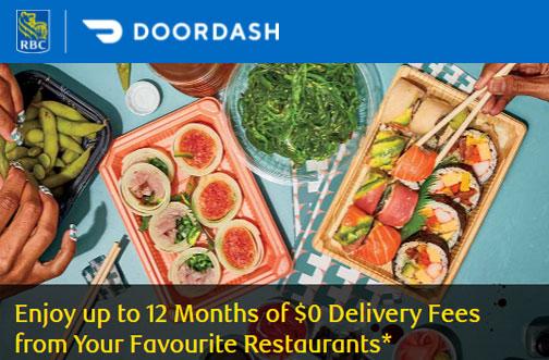 rbc doordash free dashpass