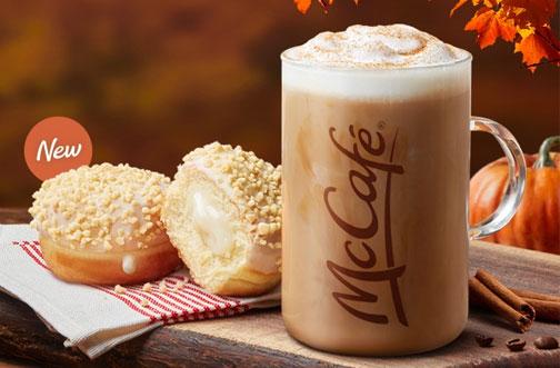 mcdonald's pumpkin spice latte