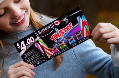 Chapman's Ice Cream Contest | Win Chapman's Coupons