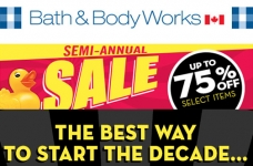 Bath & Body Works Semi-Annual Sale + Coupon
