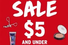 The Body Shop $5 & Under Beauty Sale