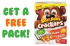 Get Free Dare Bear Paws Crackers