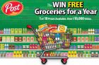 Post Foods Free Groceries For A Year Contest
