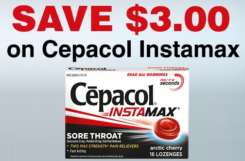Cepacol InstaMax Coupon