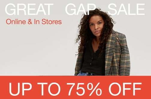 GAP Canada Sales & Deals | Great Gap Sale + Extra 20% Off