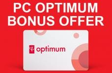 Get 10,000 PC Optimum Bonus Points