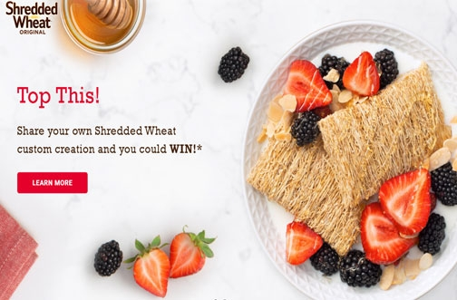Share Your Own Shredded Wheat Creation Contest