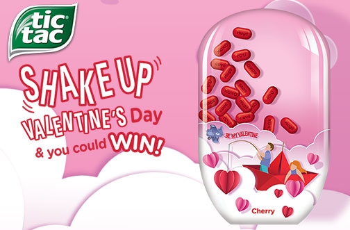 Tic Tac Contest | Shake Up Valentine's Day & Win