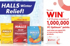 Shoppers Drug Mart Contest |  Halls Winter Relief