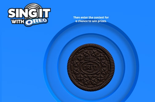 OREO Contest Canada   Sing it With OREO