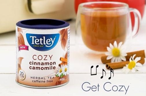 Tetley Tea Contest   Cozy Up Contest