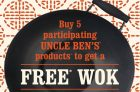 Uncle Ben's Collect & Get Wok Promotion