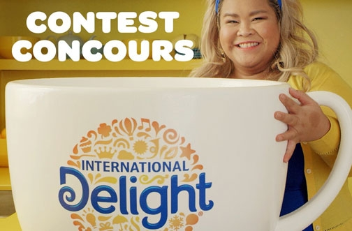 International Delight Contest | Blue Monday Contest