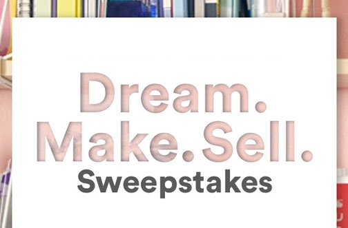 Michaels Contest |Dream. Make. Sell. Sweepstakes