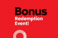 PC Optimum Bonus Redemption Event