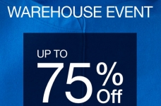 GAP Canada Sales & Deals | Warehouse Event