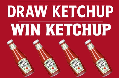 Heinz Ketchup Contest | Draw Ketchup Contest