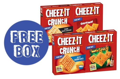Get Free Cheez-It Crackers